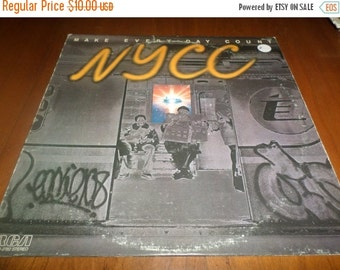Save 30% Today Vintage 1978 Vinyl LP Record NYCC Make Every Day Count Very Good Condition 3838