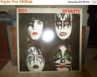 Save 25% Today Vintage 1979 Vinyl LP Record Dynasty KISS Excellent Condition 4208