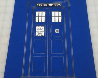 Police Box Quilt Part
