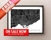 Toronto Map Print - On Sale Now