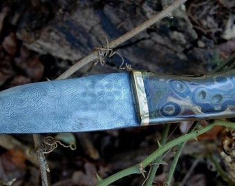 Camo Damascus Hunter
