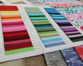 Color Card - All Colors - Any Fabric