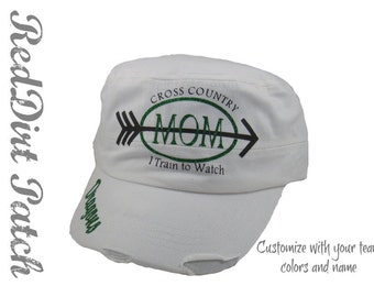Cross country  Dragons mom military cadet hat