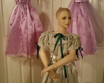 SALE Girls Civil War Ball Gown Sale Christmas 5 6 6x 7 Lavender Satin