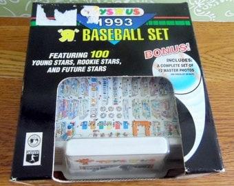 1993 TOPPS Baseball Trading Card set.