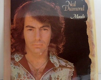 33 RPM LP record. Neil Diamond Moods.   Good condition.  MCA Records