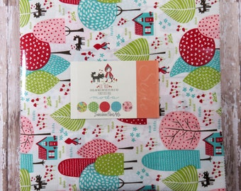 """Lil Red - Stacy Iest Hsu - Moda - 42 Pieces - 10"""" Squares - Layer Cake - 20500LC"""