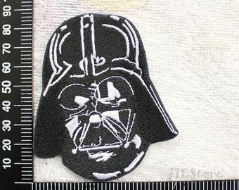 Star Wars Patch Darth Vader Applique Movie Iron on Patch CD9
