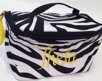 Theta Fabric Jewelry Bag
