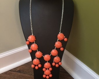 Large orange necklace