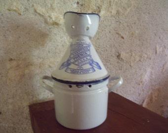 antique belgian Phenix  enameled inhaler , 1930 , very nice condition
