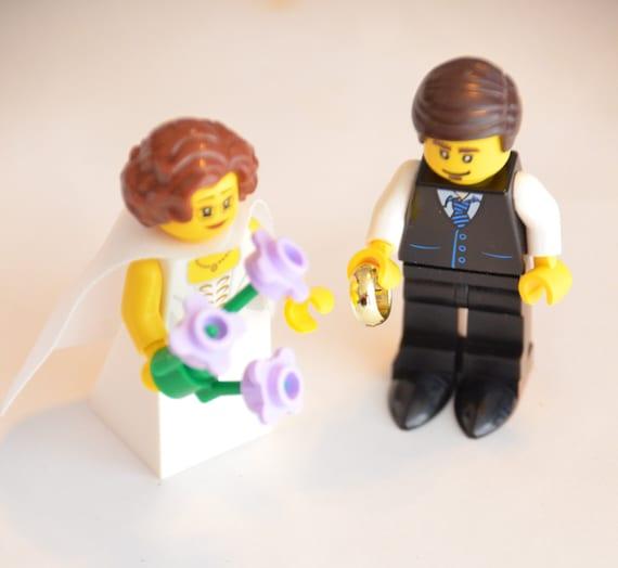 Articles similaires à Lego Custom figurine Couple de