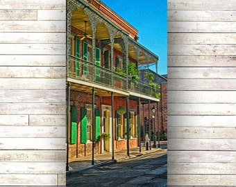 SUNNY DAY- New Orleans art - French Quarter Doors - Architecture - Door Photography - Windows