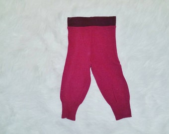 Wool Pants - Toddler Wool - Wool Longies - Baby Wool - Warm Pants - Cloth Diaper Cover