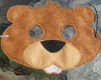 Beaver Mask other colors too Pretend Play Teach Learn Educational Imagination Story Time Play Along Home School Montessori Library