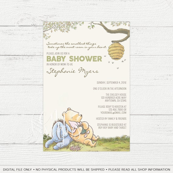 classic winnie the pooh gender neutral baby by designsbycassiecm
