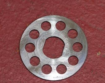 Metal meat mincer attachment for a Spong N605 grinder. Spong N605 Mincer.