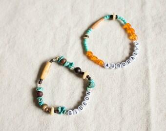 Beaded Mother's Bracelets
