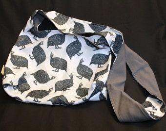 Handmade Guineafowl Handbag