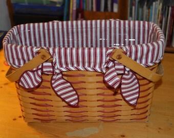Longaberger Sweetheart/ Cherished Memories Basket Combo