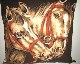 Horse Lovers Cushion Cover