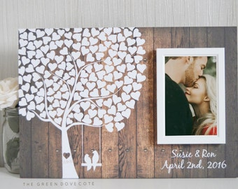 Wedding Tree Guest Book - Wedding Guestbook - Alternative Wedding Guestbook - Signature Tree Guestbook - Unique Guestbook Ideas