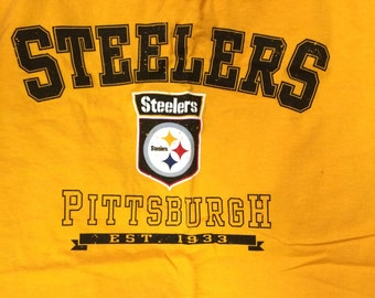 Pittsburgh Steelers Romper, Dress, Shirt Pillow Case Shirt or Skirt made with Upcycled Shirts, you choose style and size