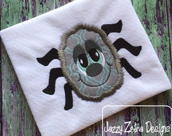 Fuzzy Spider 105 Applique Embroidery Design