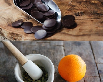 Vegan Raw Chocolate Orange & Cardamom//dairy free//sugar free//gluten free//diabetic//