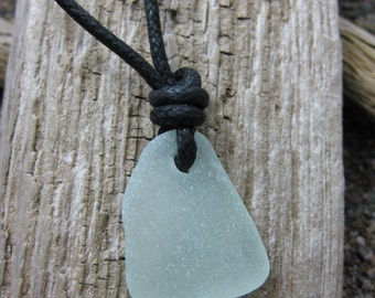 Surfer Sea Glass choker, beach glass surfer necklace, SeaglassWithATwist