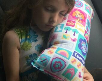 Paw Patrol Seat Belt Pillow, Kids Travel Pillow
