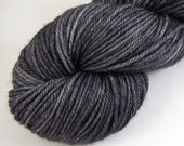 Graphite - Hand Dyed Worsted Weight Yarn