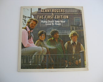 Kenny Rogers & The First Edition - Ruby, Don't Take Your Love To Town - 1969