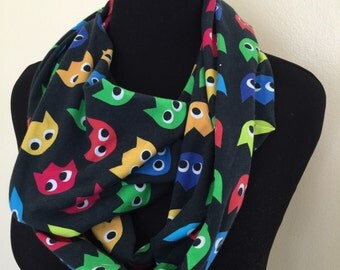 Pacman ghosts Infinity Scarf