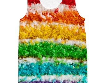 Rainbow Cake Tank top
