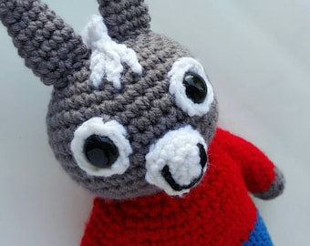 Trotro Crochet - Stuffed Animal