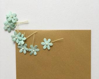 Mini Envelopes - 25 metallic gold envelopes - small envelopes