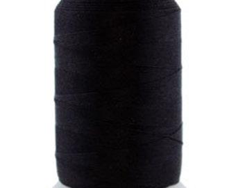 Silk Thread 1/2oz Spool Black Size C (CD7015)