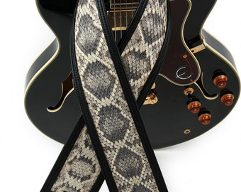 Diamondback Rattlesnake Series 200 Custom Guitar Strap
