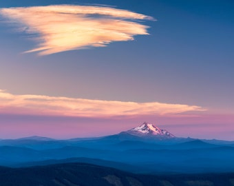 Oregon Photography, Mount Jefferson, Landscape Nature Photography, Mountain Photography