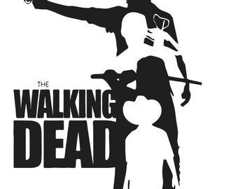Unique Walking Dead Decal Related Items Etsy