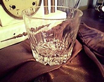 Vintage Princess House Crystal Ice Bucket