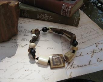 Primitive Tribal Bracelet for the Boho Hippie Gypsy
