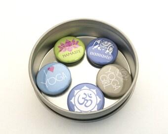 Yoga Magnet Set, yoga gift
