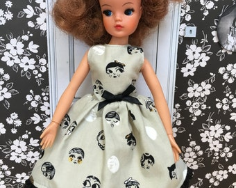 Dollface dress for adult collectors.