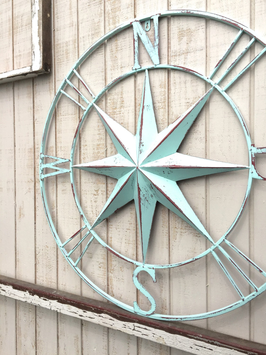 Nautical Compass Wall Art Nautical Decor Nautical Wall Art