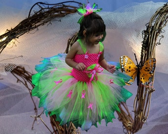 Brilliantly Vivid Awareness Tutu Dress