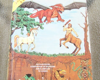 1978 Advanced Dungeons and Dragons D&D MONSTER MANUAL TSR Book