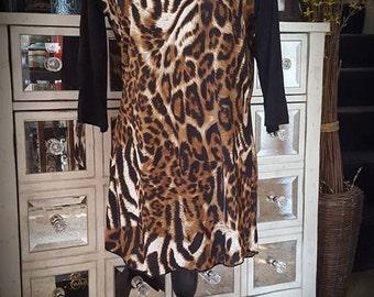 Leopard/ Tunic Dress