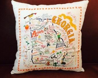 State Pillow: Georgia